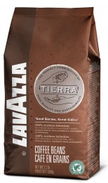 Lavazza Tierra, zrnková káva 1kg