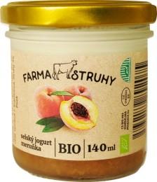 Farma Struhy Bio selský jogurt meruňka