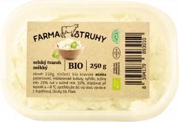 Farma Struhy BIO selský tvaroh měkký