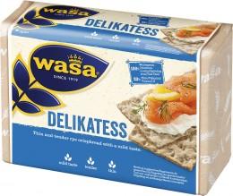 Wasa Delikatess celozrnný žitný křupavý chléb