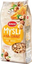 Emco Mysli na Zdraví Medové s ořechy křupavé mysli