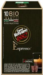 Vergnano 100% Arabica BIO kapsle pro Nespresso kávovary 10 ks