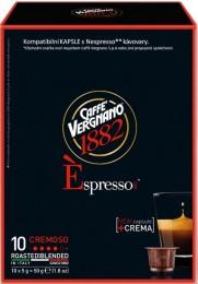 Vergnano Éspresso Cremoso kapsle pro Nespresso kávovary 10 ks