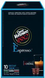 Vergnano Decaffeinato kapsle pro Nespresso kávovary 10 ks