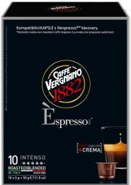Vergnano Éspresso Intenso kapsle pro Nespresso kávovary 10 ks