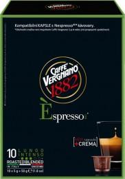 Vergnano Éspresso Lungo Intenso kapsle pro Nespresso kávovary 10 ks
