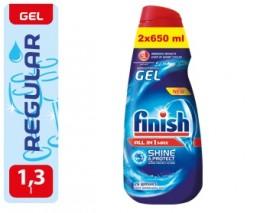Finish All-in-1 Shine&Protect 2x650ml gel do myčky