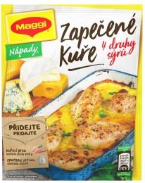 MAGGI Nápady Zapečené kuře se čtyřmi druhy sýrů