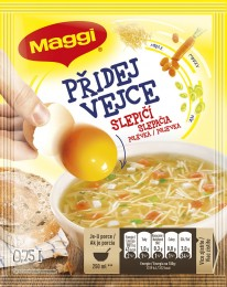 MAGGI Přidej vejce Slepičí polévka