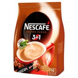 Nescafé 3in1 Brown Sugar 10ks