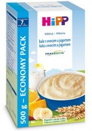 HiPP Mléčná kaše s ovocem a jogurtem