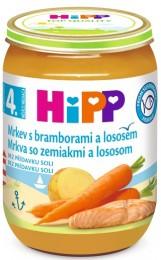 HiPP Mrkev s bramborami a lososem