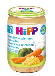 HiPP Bio Těstoviny se zeleninou a smetanou