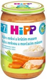 HiPP Bio Rýže s karotkou a krůtím masem