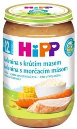 HiPP Bio Zelenina s krůtím masem
