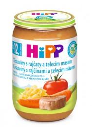 HiPP Bio Těstoviny s rajčaty a telecím masem