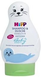 """HiPP Babysanft Šampón """"Vlasy&Tělo"""" (Lachtan)"""
