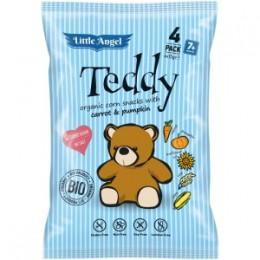 McLloyd ́s Little Angel Teddy Bio křupky mrkev a dýně 4x15g