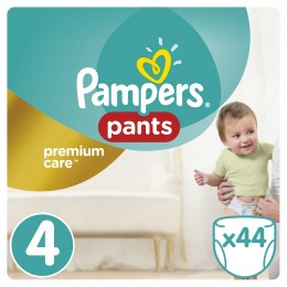 Pampers Premium Care Pants plenkové kalhotky Maxi 8-14kg (velikost 4) 44ks