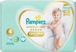 Pampers Pants Premium Care 9-15 kg (velikost 4) 38 ks