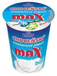 Choceňská mlékárna Choceňský Max Jogurt 10 % bílý