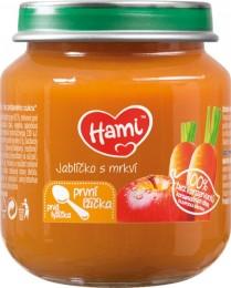 Hami příkrm První lžička Jablíčko s mrkví