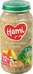 Hami příkrm Brokolice s krůtou a cuketou