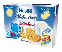 Nestlé Mlíčko s kaší sušenkové