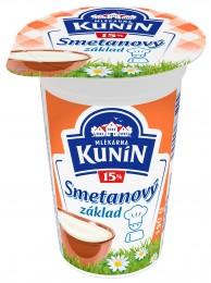 Mlékárna Kunín Smetanový základ 15%
