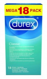 Durex Classic kondom 18ks