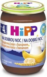 HiPP Bio Krupicová kaše na dobrou noc s banánem