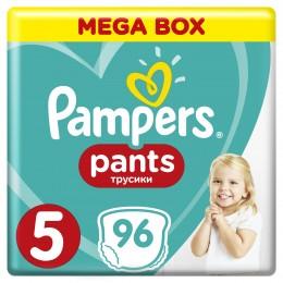 Pampers Pants Plenkové Kalhotky (velikost 5) 96 ks