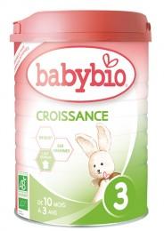 BABYBIO kojenecké mléko 3 Croissance