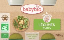 BABYBIO Zelená zelenina