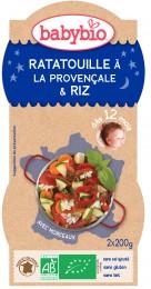 Babybio BIO Ratatouille po provensálsku s rýží - večerní