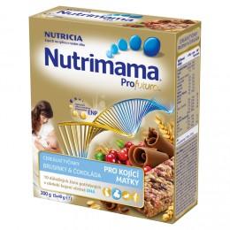 Nutrimama cereální tyčinky brusinka &čokoláda