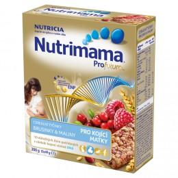 Nutrimama cereální tyčinky brusinky&maliny