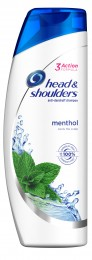 Head & Shoulders Menthol Fresh Šampon Proti Lupům