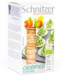 Schnitzer Bezlepkové oplatky BIO - Natur