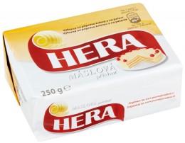 Hera máslová rostlinný tuk