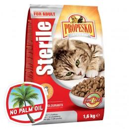 Propesko Sterile S drůbežím granule pro kočky
