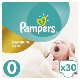 Pampers Premium Care dětské plenky Mikro <2,5 kg (velikost 0) 30 ks