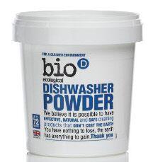 Bio-D Prášek do myčky (0,72kg)