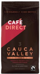 Cafédirect Colombia Cauca Valley mletá káva