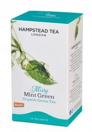 Hampstead Tea BIO zelený čaj s mátou a lékořicí 20ks