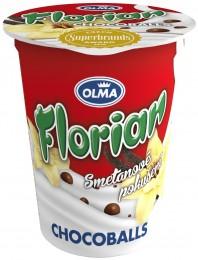 Olma Florian smetanový jogurt chocoballs