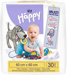 Bella Baby HAPPY dětské podložky 60x60 cm 30 ks