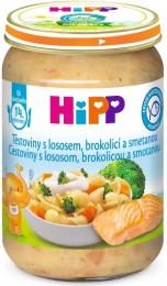 HiPP Těstoviny s lososem, brokolicí a smetanou