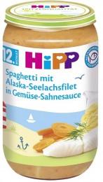 HiPP Špagety s treskou a zeleninou ve smetanové omáčce
