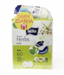 Bella Herbs Tilia slipové vložky 60ks + dárek